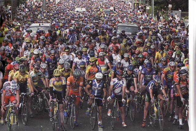 This could be you at Cycle Challenge 2012