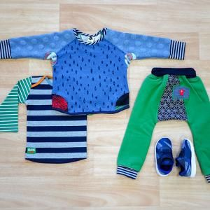 Bubble and Squeak Crew Jumper, Outback Horizon LS T Shirt, How Wow Track Pant, Nike Tanjun TD Toddler Obsidian/Deep Royal Blue, Oishi-m Clothing for Kids, Winter 18, www.oishi-m.com