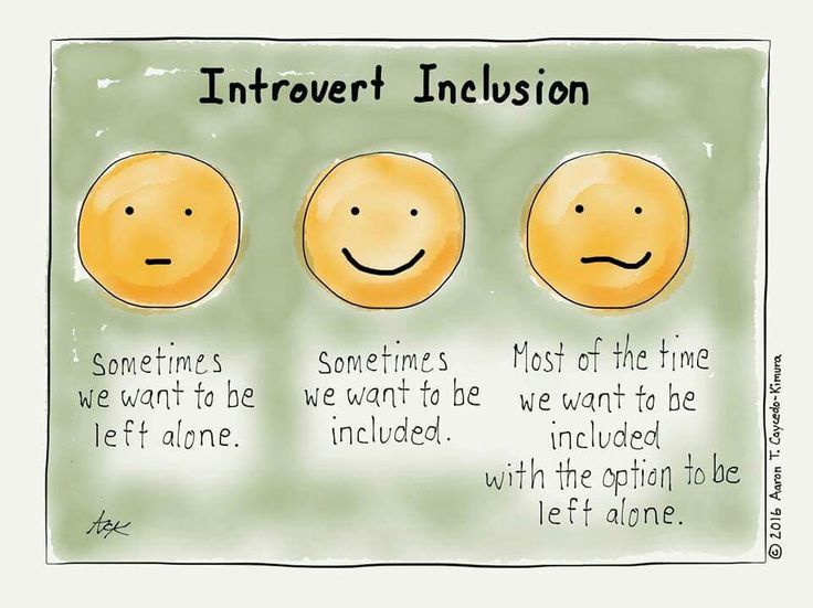 INFJ - Introvert inclusion