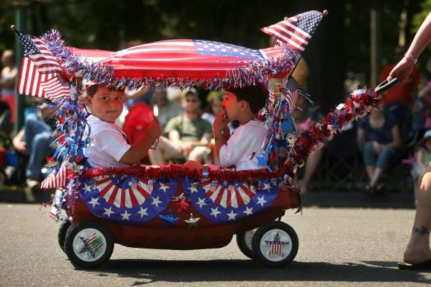 Wagon - Memorial Day Float