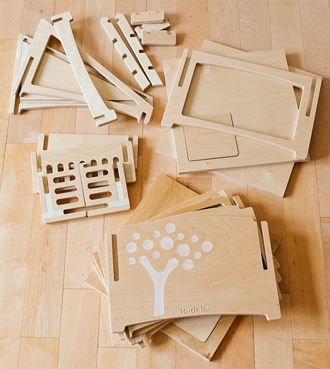 Wooden parts for stackhouse-see other pics for how it looks when assembled...