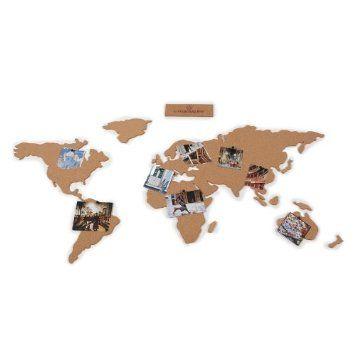 Le monde en liège pour y épingler tous nos voyages