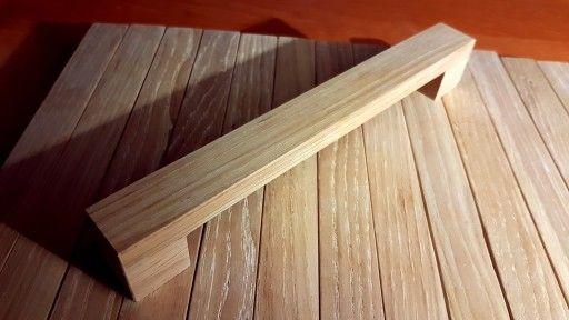 Uchwyt Meblowy Drewniany Do Drzwiczek 160 Mm Dąb Dining