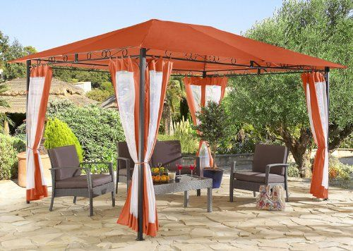 die besten 25 gartenpavillon metall ideen auf pinterest metall pergola pergola metall und. Black Bedroom Furniture Sets. Home Design Ideas