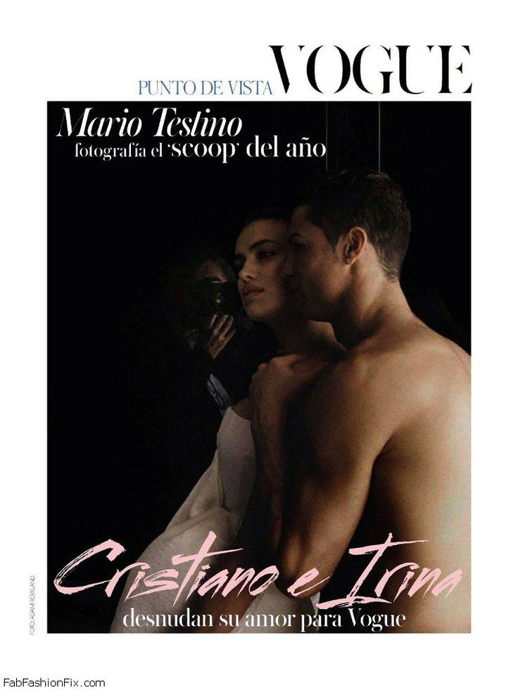 Irina Shayk Cristiano Ronaldo go naked for Vogue Spain June 2014