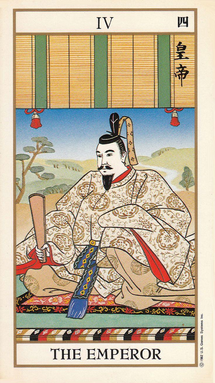 The Emperor - Ukiyoe Tarot