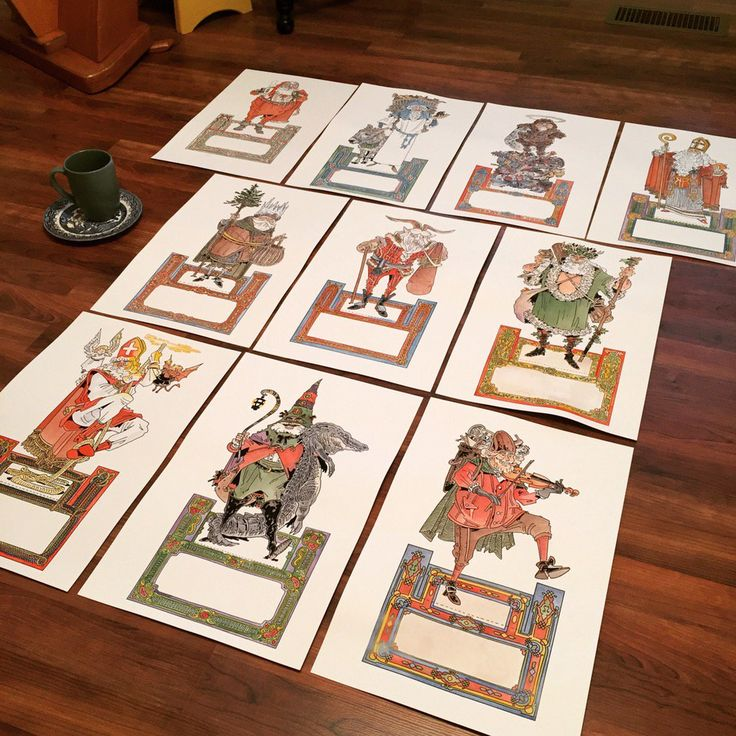 """Chris Schweizerさんのツイート: """"All of the Santas for the set have been hand-painted! @benito_cereno https://t.co/dKXsu4OCg6"""""""