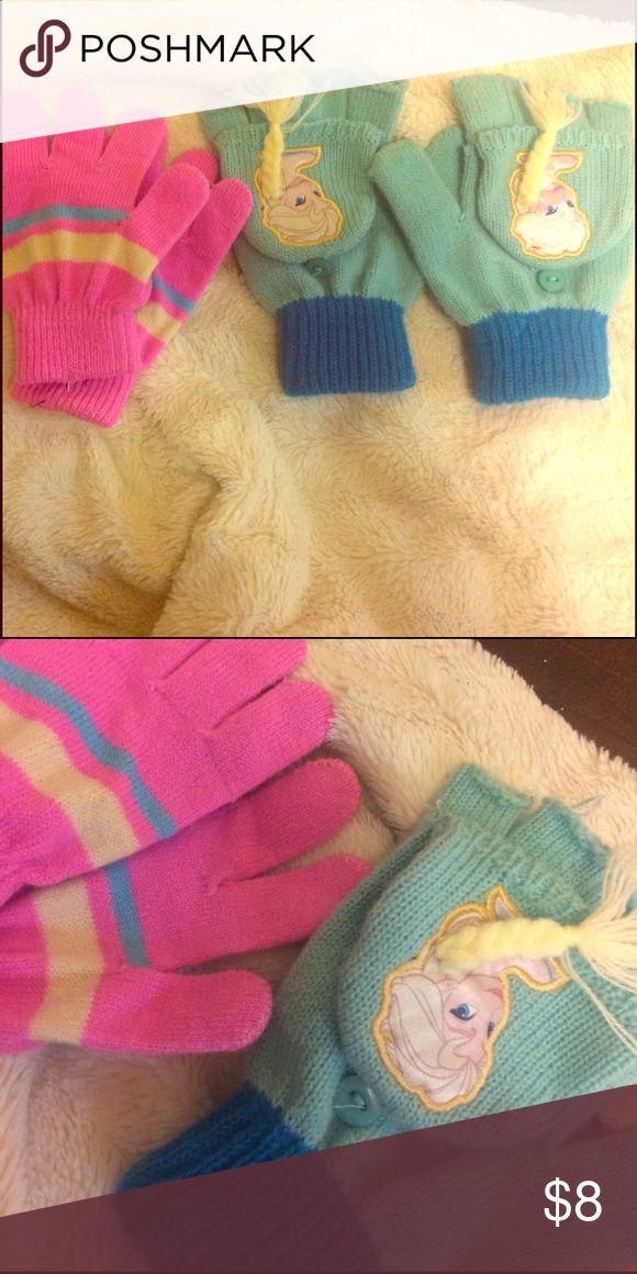 Little girls gloves Cotton gloves, never worn. 10:10 Accessories Gloves & Mittens