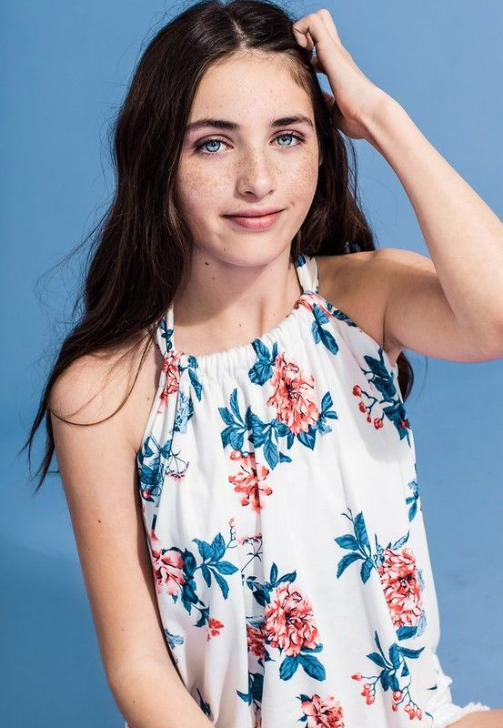 Tween Flowy Tank Top #boutique #musthave #clothing #southernstyle #southernpalette #fashion #apparel #getinmycloset #outfitidea #falloutfits #schoolshopping shop www.southernpalette256.com