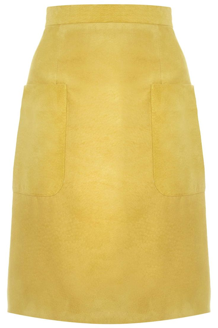 Angie Suede Skirt by Unique - Topshop