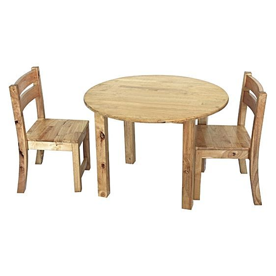 Kids Round Table with Stacking Chairs by QToys $160 or $168