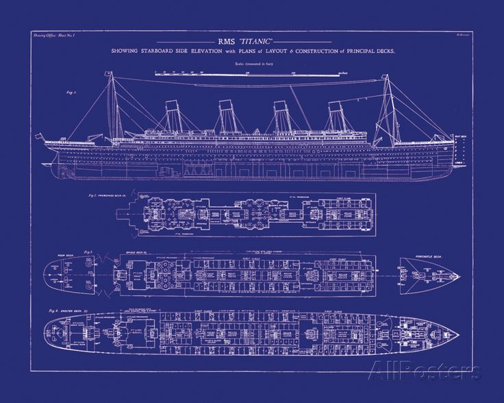 blueprint of the titanic things that make me smile Pinterest - new blueprint background image