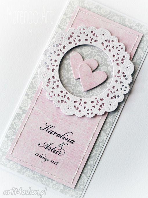 Kartka ślubna personalizowana. $5