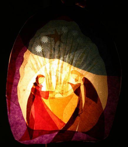 Transparentes Fensterbild Waldorf Fensterstern Jahreszeitentisch Sterntaler   eBay