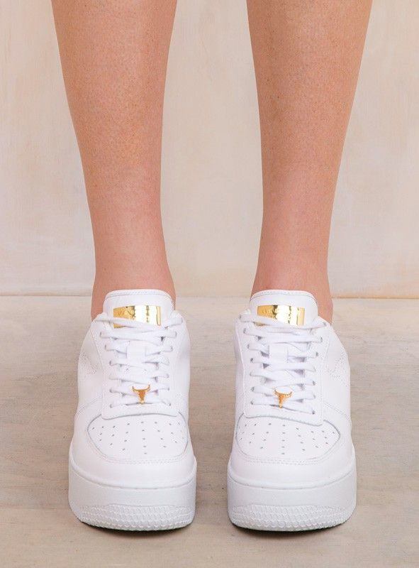 Windsor Smith White Racerr Sneakers