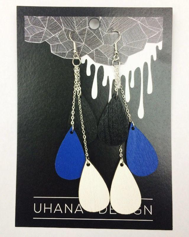 Uhana Design - Pisarakorvikset (musta - värillinen - valkoinen) / Asusteet / Televisio Lifestyle Store - KAUPPA