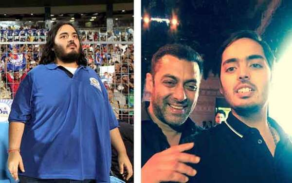 """Anant Ambani, the youngest son of Mukesh Ambani has been in news after his major weight loss. And this time the fittest actor in bollywood Salman Khan said he has immense """"respect"""" for his will power."""