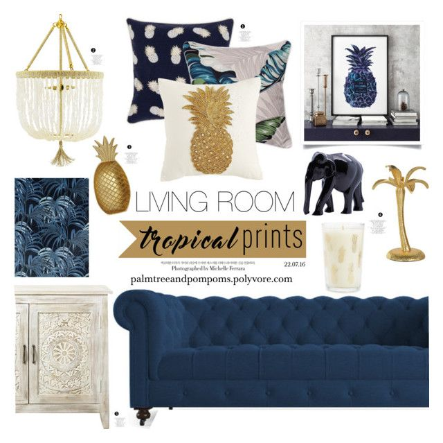 Tropical Prints By Palmtreesandpompoms Liked On Polyvore Featuring Interior Interiors Interior