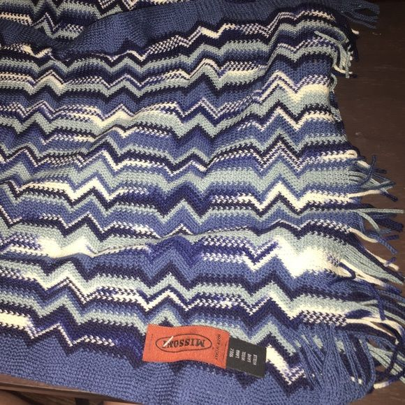 Missoni Scarf Brand new with tags beautiful scarf nice and long to wrap around your neck Missoni Accessories Scarves & Wraps