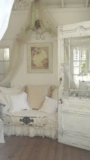 ♥Chic Decor, The Doors, Romantic Room, Shabby Chic, Girls Room, Cottages, Bedrooms, Old Doors, Shabbychic