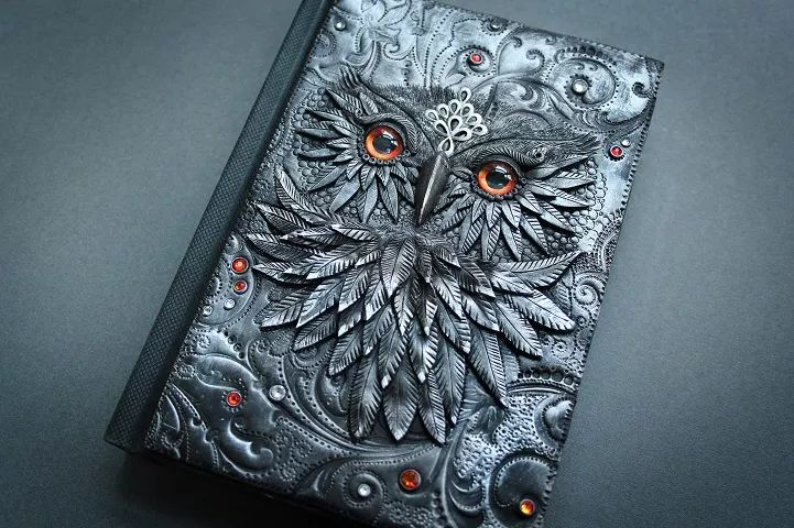 Artist Quits Job to Craft Beautiful Handmade Fairy Tale Book Covers - Gipsy.Ninja