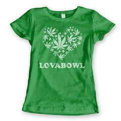Love A Bowl Women's Jr Fit T-Shirt