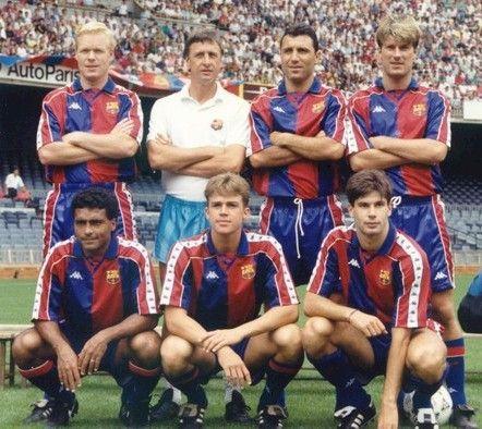 Pour moi la meilleur equipe du Barca que j'ai connu ! Avec les Romario,Laudrup...