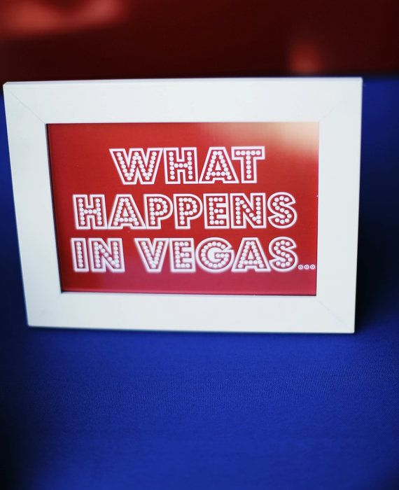 Add a little Vegas fun to your wedding with this cute printable sign by @Paper and Home . Would be perfect for an insuite bar or guestbook table. It's an instant download on Etsy!