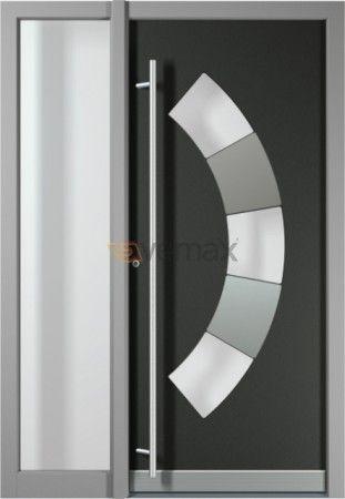 puerta de entrada en aluminio elegancia seguridad y diseo las puertas de entrada de aluminio