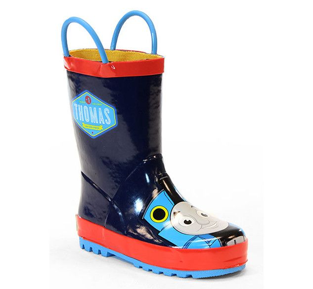 Kids' Thomas the Tank Blue Engine Rain Boots - Navy