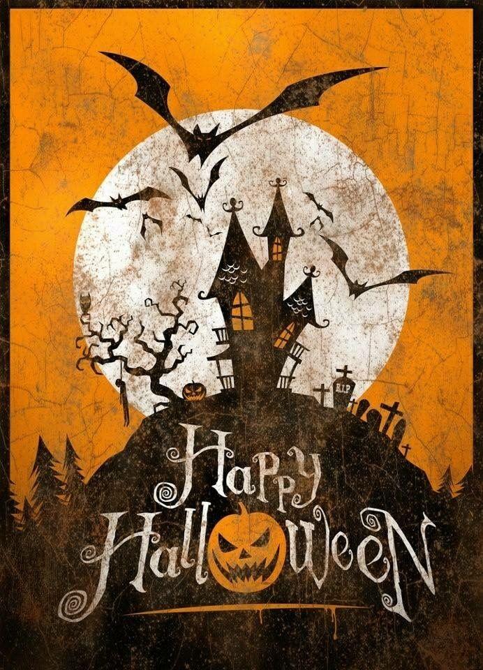 épinglé Par K Sur Spooky Halloween Vintage Joyeux