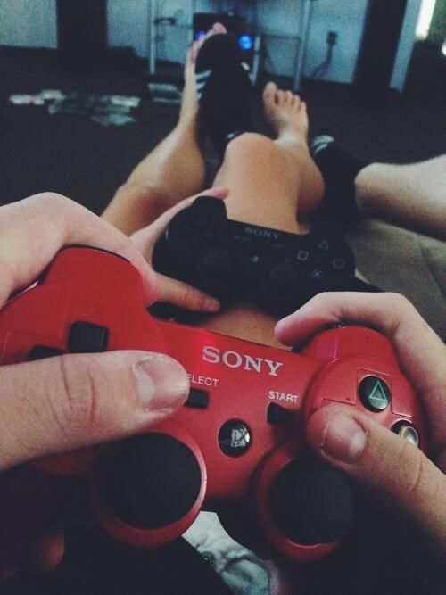 Couples Playing... Girl Playing Video Games Tumblr