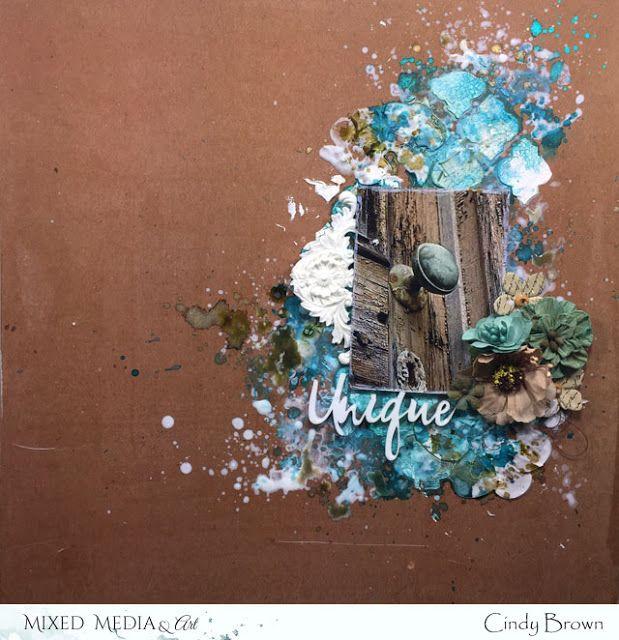 Les péripéties de Talkis: Mon project de Novembre pour Mixed Media and art