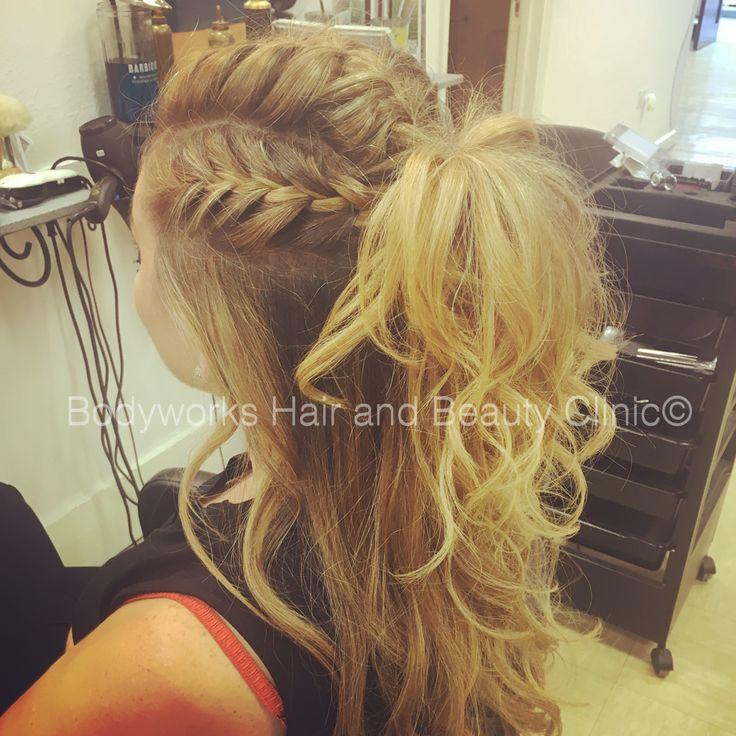 Plaits, long hair