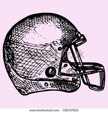 hockey helmets how to draw