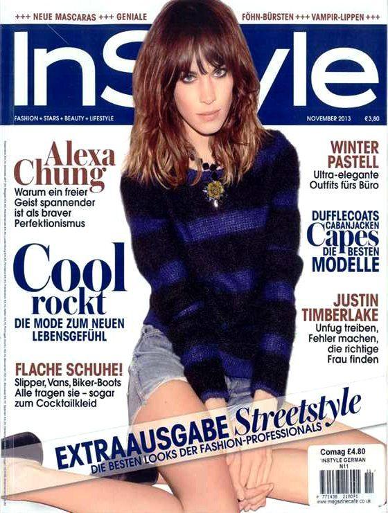 Alexa Chung (2013.11. InStyle) #AlexaChung