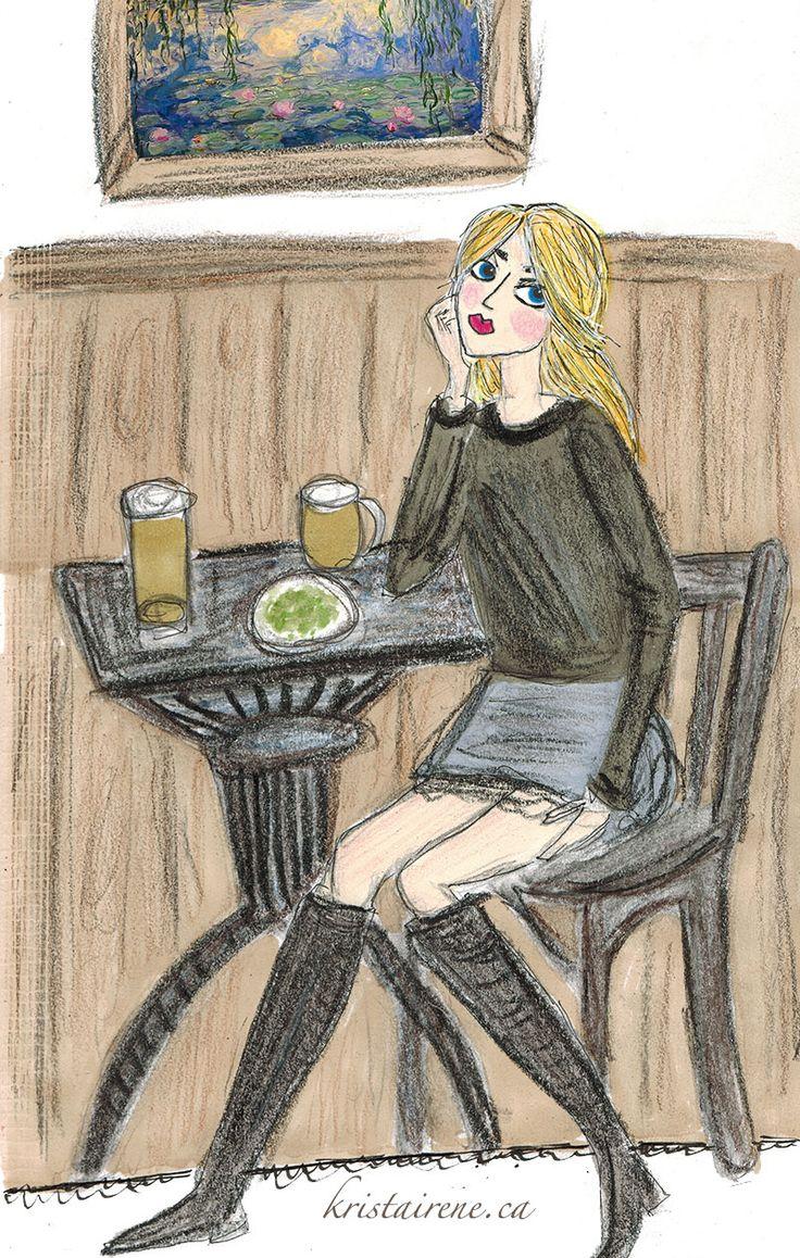 art girl - by krista tannahill