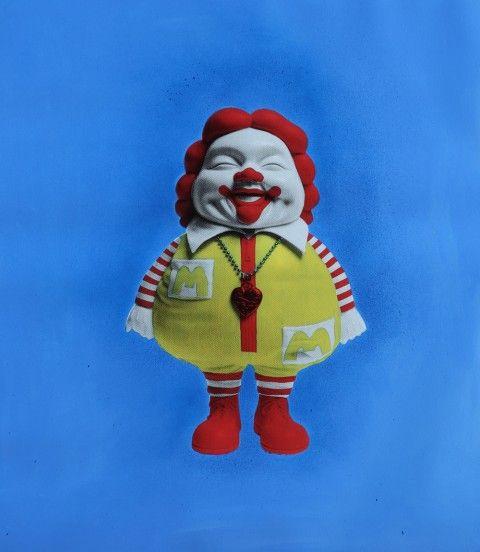 Ron English, Mc Supersized 5 - courtesy Dorothy Circus Gallery, Roma