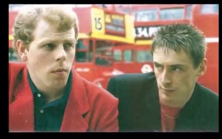 Paul Weller and Mick Talbot
