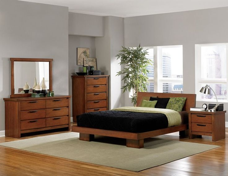 Homelegance 2218 Kobe Bedroom Set With Platform Bed