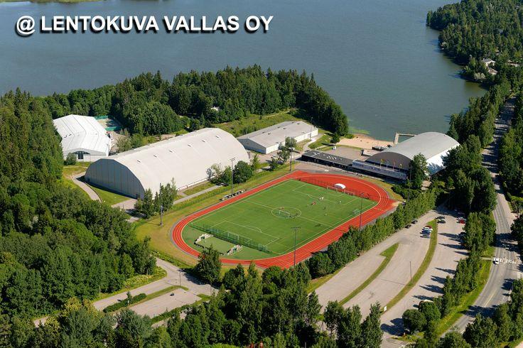 Espoo, Laaksolahden urheilukeskus Ilmakuva: Lentokuva Vallas Oy