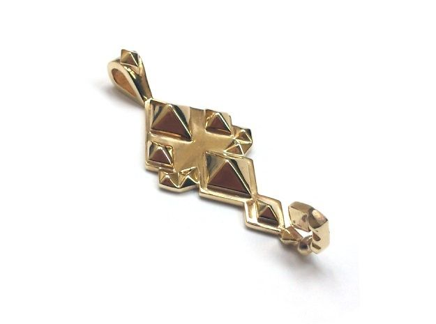 SacredScorpio pendant  by numarul7'