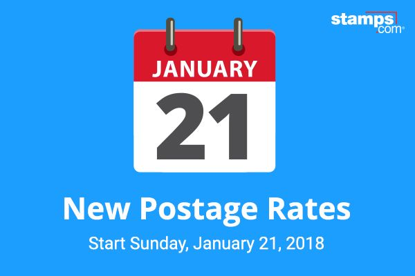 The U.S. Postal Service has proposed new postage rates to be implemented on Sunday, January 21, 2018, subject to approval by the Postal Regulatory Commission (PRC). Listed below are the highlights of the proposed 2018 USPS rate increase for customers buying postage online: First Class Mail Letters The rate for a First Class Mail Letter (1 oz.) for postage purchased at …