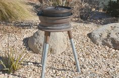 How To Make A Dutch Oven Stand On The Cheap