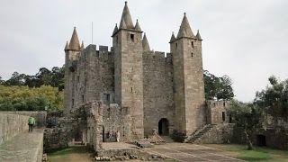 Castelo de Santa Maria da Feira. Santa Maria da Feira castle.