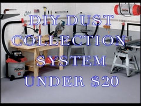 DIY Dust collector - Simple to make & Under $20