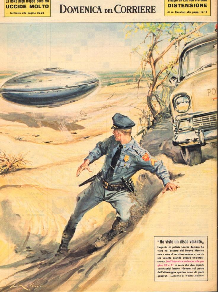 Ufo Domenica del Corriere