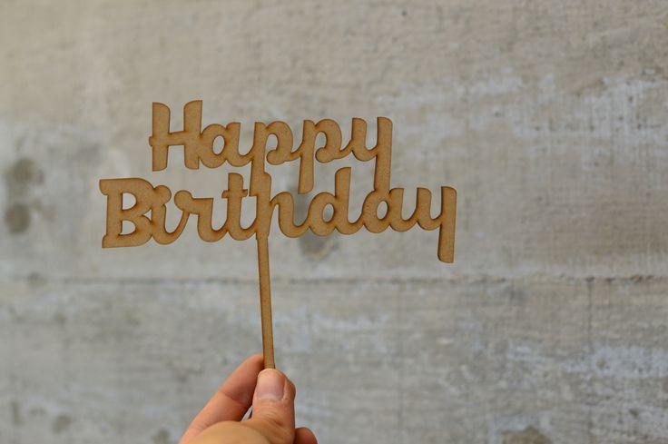 para pasteles de cumpleaños :) el perfecto regalo con un toque personal