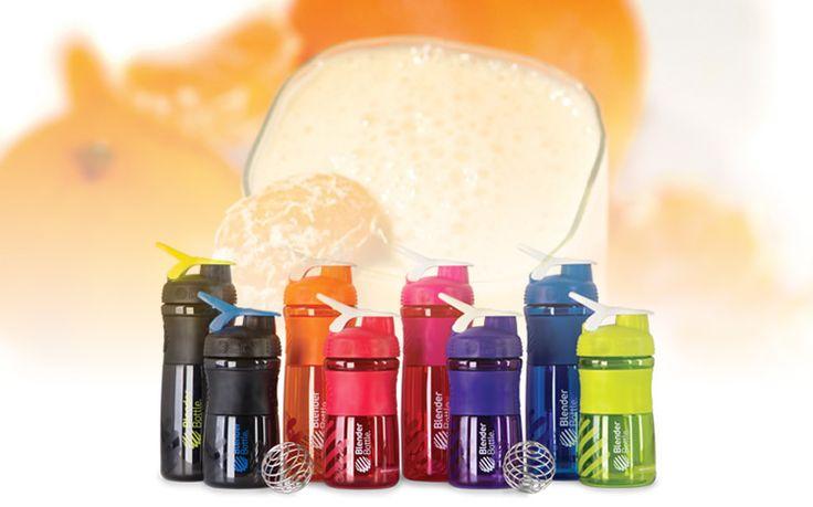 Niet echt een sportdrank maar wel gewoon lekker http://www.x6sports.com/blender-bottle-recept-sinaasappel/