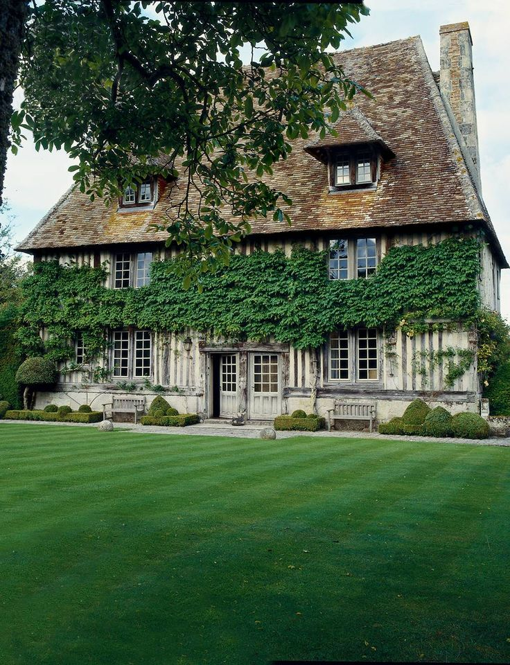 From the archive: a Normandy manor house with formal gardens designed by Russell Page (2010)